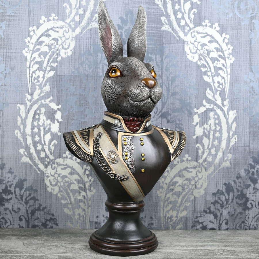 Gentry Rabbit bust ornament