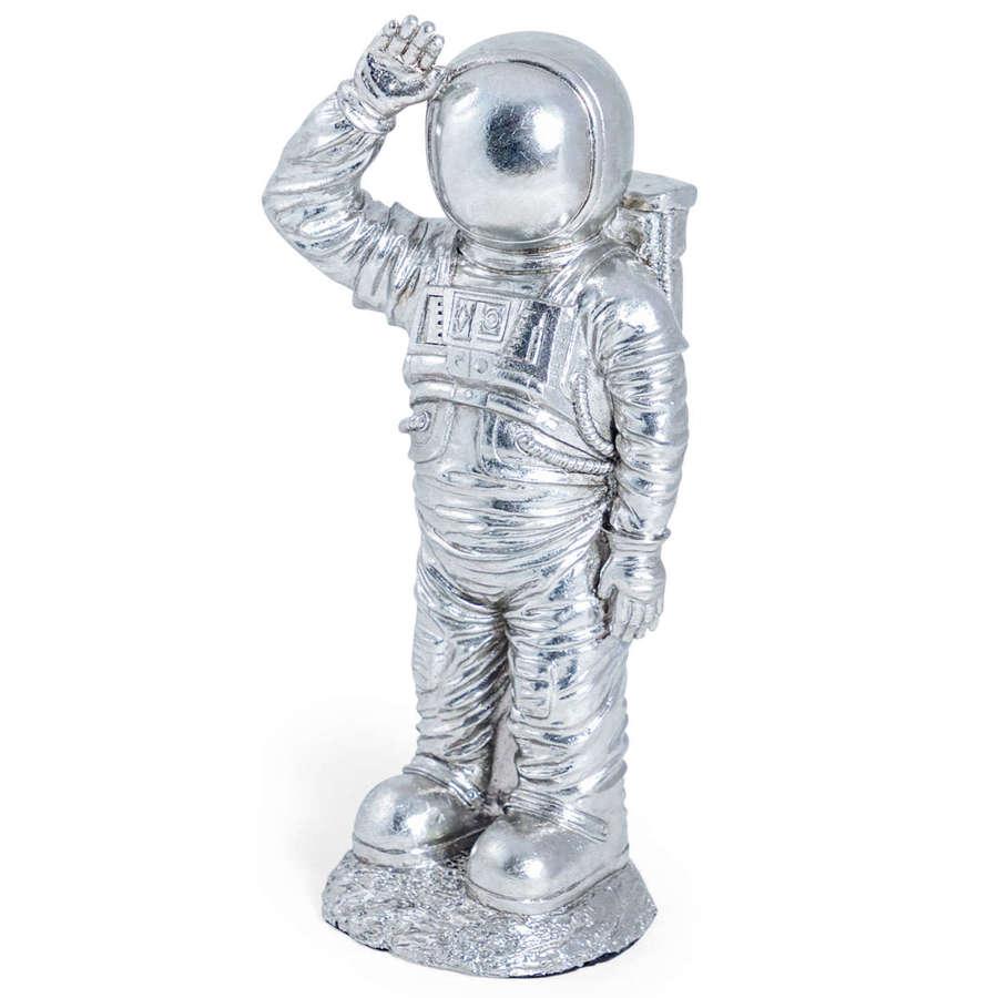 Silver Astronaut ornament