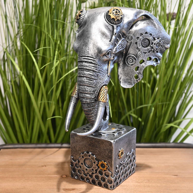 Steampunk Elephant head