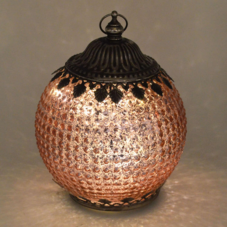 Pink Pomegranate LED lantern