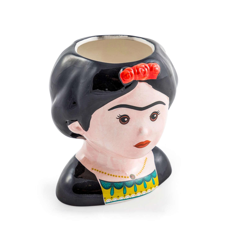 Mexicana ceramic lady pots