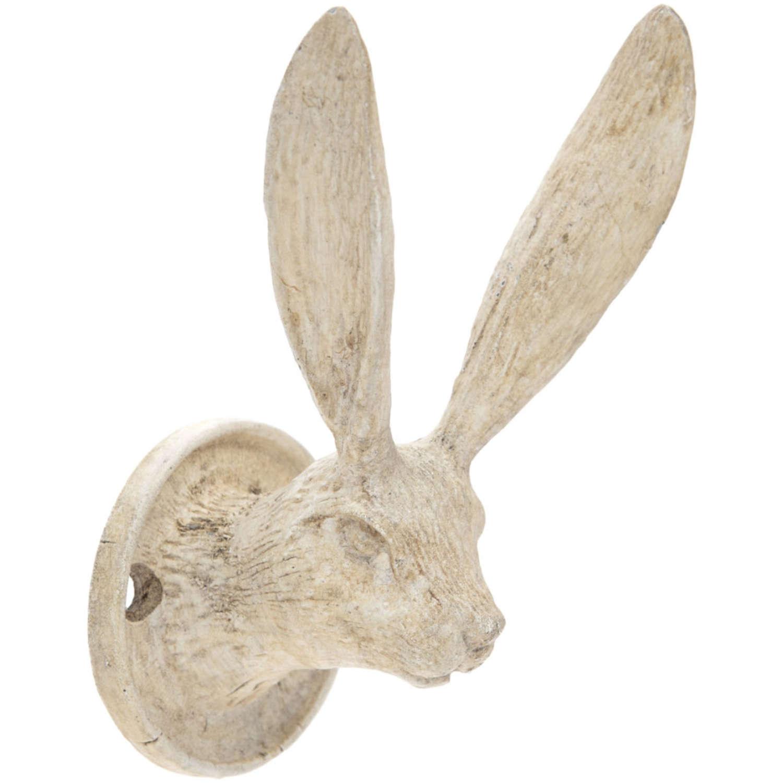 Cream metal Hare hook