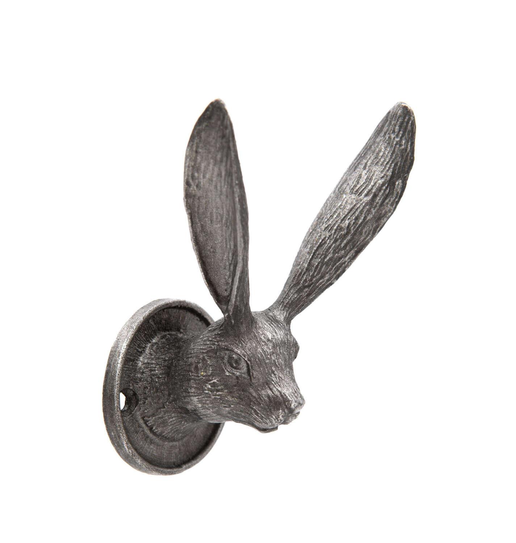 Pewter metal Hare hook